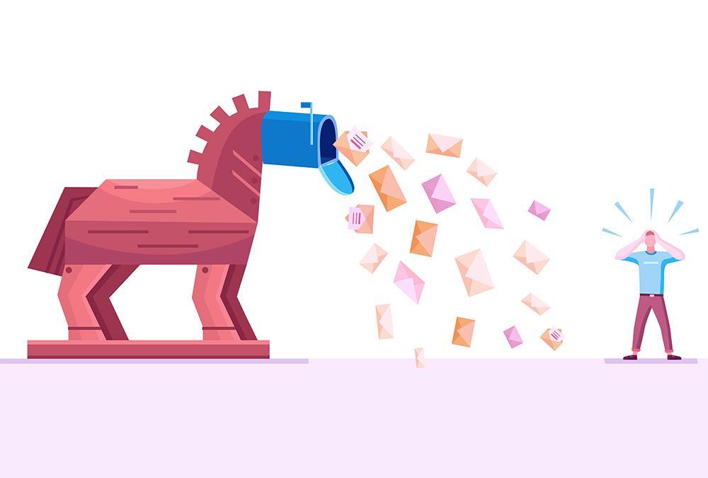 Cos'è il captcha e come si usa - Spam - Troyan - Cavallo